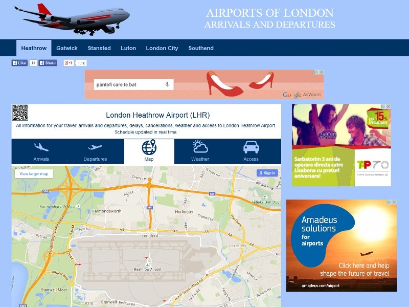 Airports of London