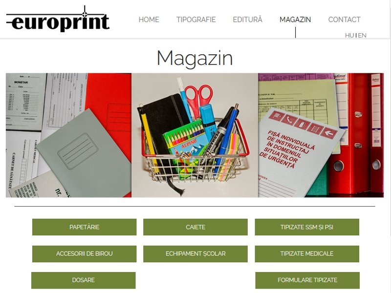 Europrint - typography and publishing house